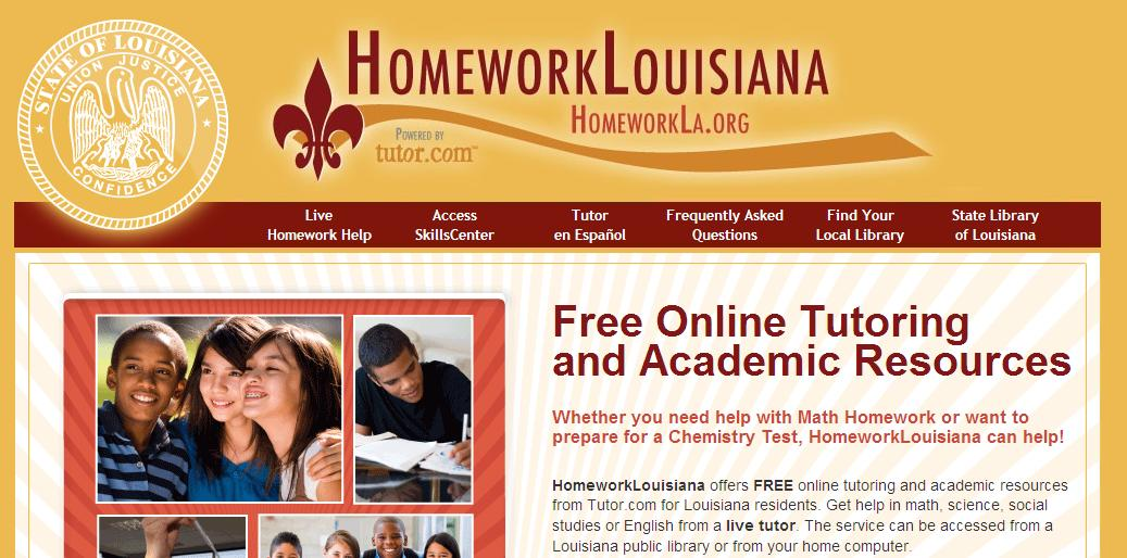 Louisiana homework help online